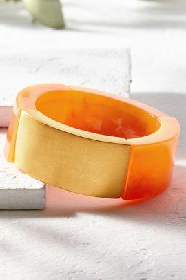 Gold Accented Stretch Bracelet
