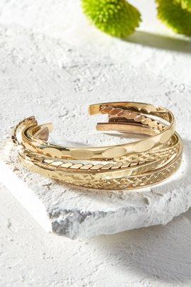 Layering Cuff Bracelet Set