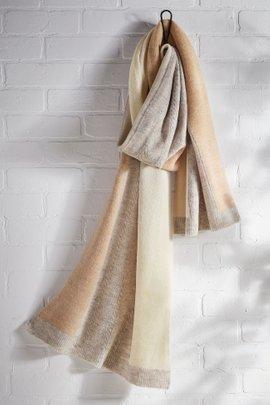 Blocked In Blanket Scarf
