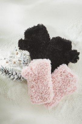 Sugar Plum Fairy Fingerless Gloves