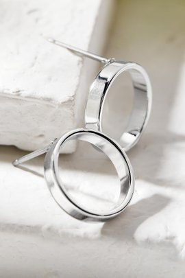 Mini Front Hoop Earrings