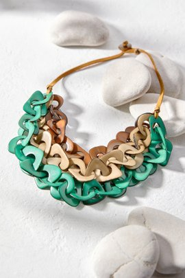 Multi-Layer Tagua Necklace
