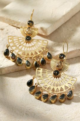 Boho Stone Earrings