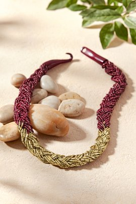Braided Beaded Statement