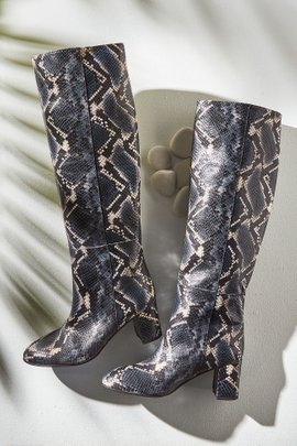 Corly Tall Snakeskin Boot