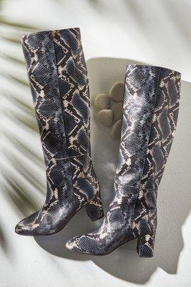 Corly Tall Snakeskin Boot