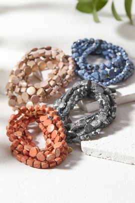 Stack-able Stretch Bracelets