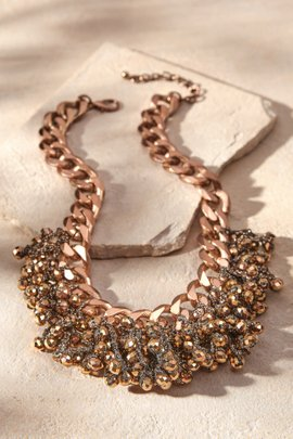 Bronze Chain Necklace