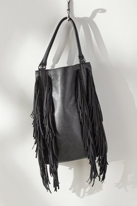All Over Fringe Hobo