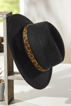 Leopard Band Hat
