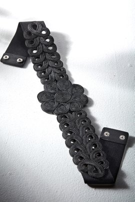 Braided Rope Stretch Belt