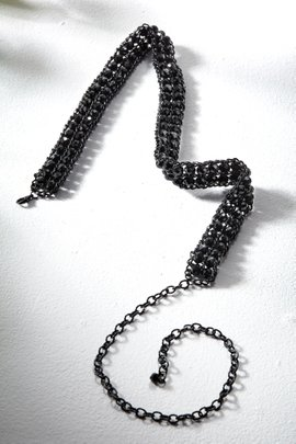 Beaded Chain Belt
