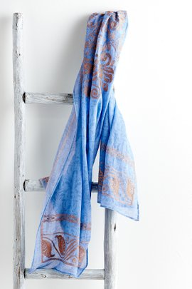 Periwinkle Shadows Scarf