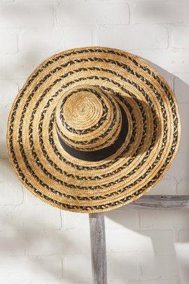Sunny Days Straw Hat