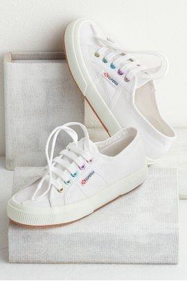 Colorful Eyelet Sneaker