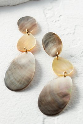 Mother-of-Pearl Drop Earring