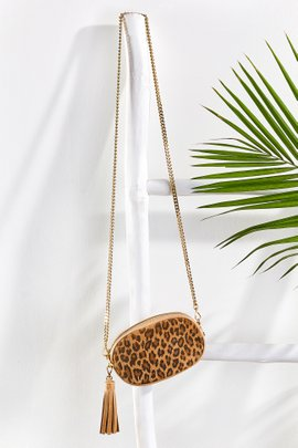 Belt Bag with Removable Chain