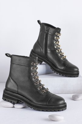 Cecelia NY Chance Combat Boot