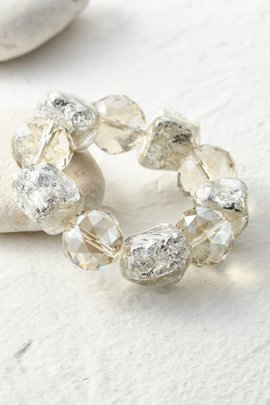Nugget and Crystal Bracelet