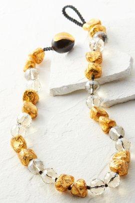 Nugget & Crystal Necklace