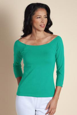 Underwire 3/4 Sleeve Top