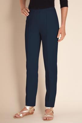 Womens Stretch Knit Pants