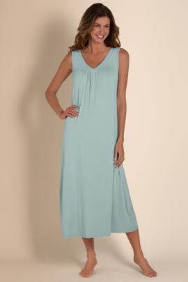 Womens Long Bamboo Nightgown