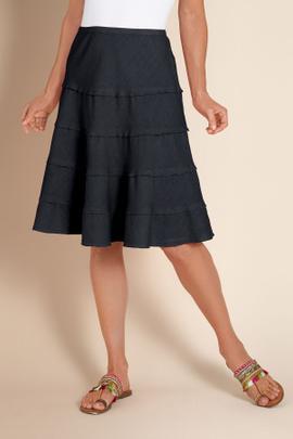 Tiered Skirt