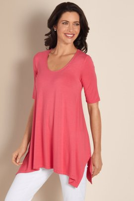High Low Hem Top