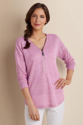 Valentina Zip Sweater I