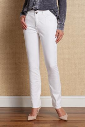 Petites Classic Straight Leg Jeans
