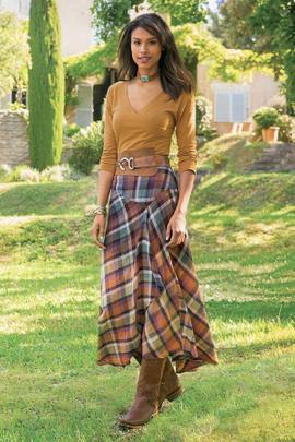 Artist Skirt