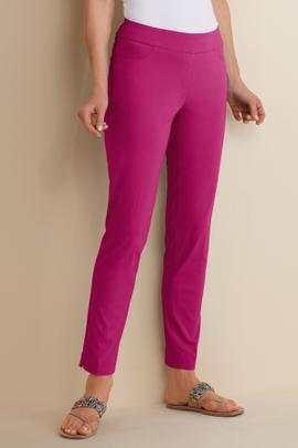 Super Stretch Ankle Pants