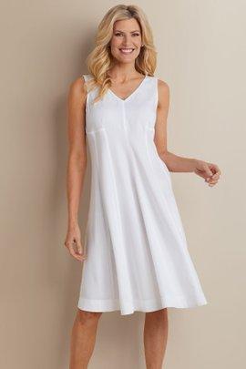 Petites Take A Twirl Tencel® Dress