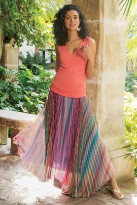 Petites Spring Fling Skirt