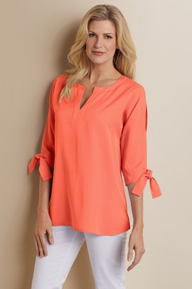 Cold Shoulder Tencel® Shirt