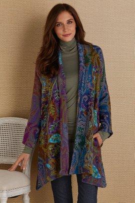Violette Paisley Jacket