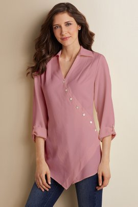 Washed Tencel® Tunic