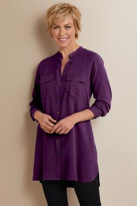 Supreme Silk Tunic