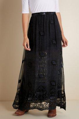 Seraphina Silk Skirt