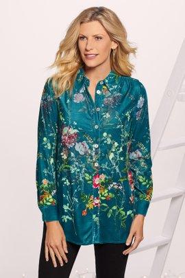 Jardim Velvet Shirt