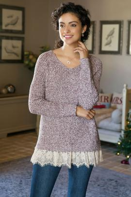 Soft Spoken Sweater