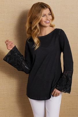 Petites Sheer Genius Shirt