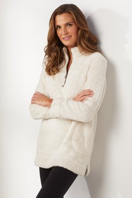Luxe Sherpa Pullover