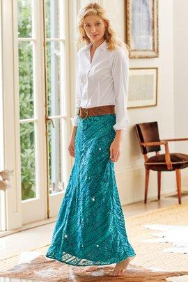 Petites Mirrormere Skirt