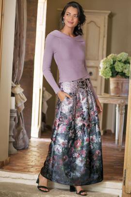 Aster Floral Skirt