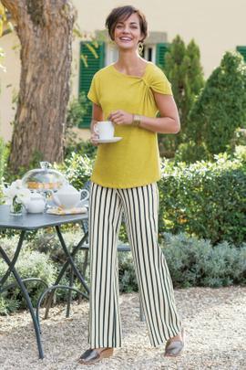 Single Striped Pants