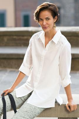 Lorelai Cutwork Shirt
