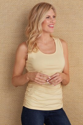 Women Ruched Tank