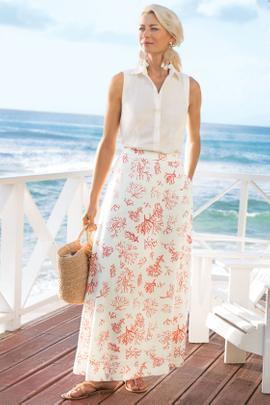 Maldives Maxi Skirt